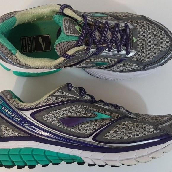 b46fbb79757c0 Brooks Shoes - Brooks Womens Ghost 7 Running Shoe Size 8